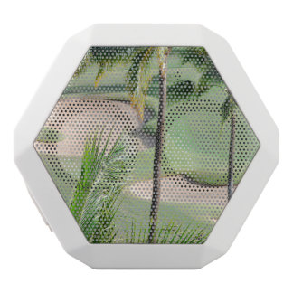 Golf Course in Tropics White Boombot Rex Bluetooth Speaker