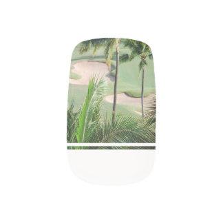 Golf Course in Tropics Minx ® Nail Art