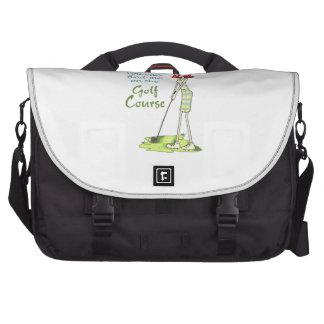 Golf Course Computer Bag
