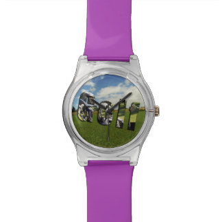 Golf Course Logo, Ladies Purple May Watch