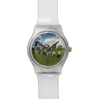 Golf Course Logo, Ladies White May Watch