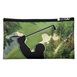 Golf Course Makeup Bag