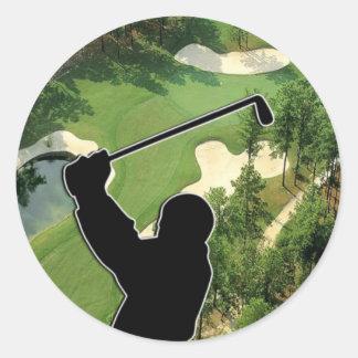Golf Course Sticker