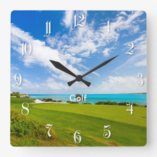 Golf course wall clocks