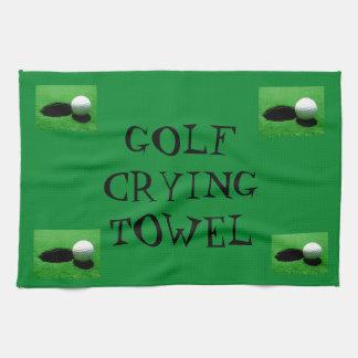 Golf Crying Towel