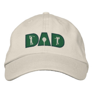 Golf Dad Golfing Sports Embroidered Hat