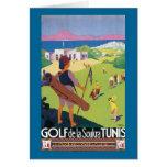 Golf de la Soukra Tunis Greeting Card