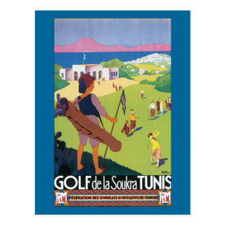 Golf de la Soukra Tunis Postcard
