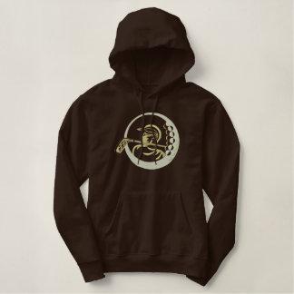 Golf Design Embroidered Hoodie