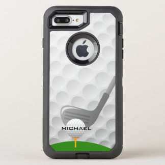 Golf Design Otter Box OtterBox Defender iPhone 7 Plus Case