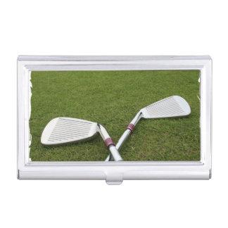 Golf Designs Business Card Holder