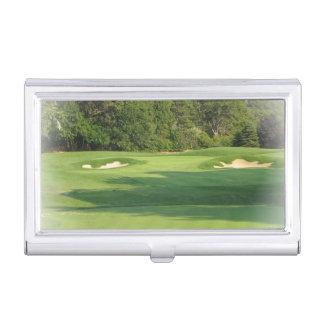 Golf Designs Business Card Case