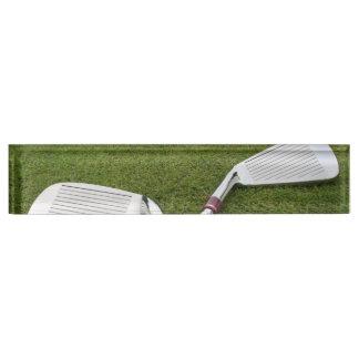 Golf Designs Desk Name Plate