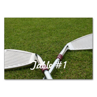 Golf Designs Table Cards