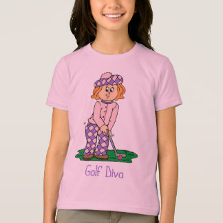 Golf Diva Tees for Girls
