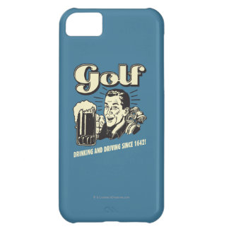 Golf: Drinking & Driving Since 1642 iPhone 5C Case