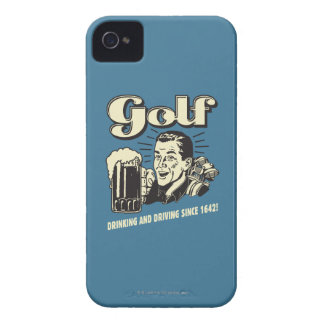 Golf: Drinking & Driving Since 1642 iPhone 4 Case