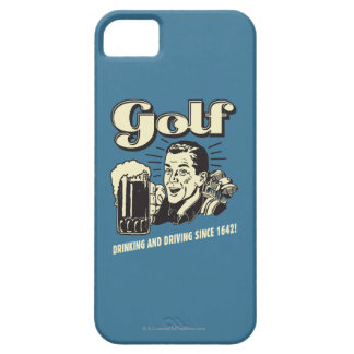 Golf: Drinking & Driving Since 1642 iPhone 5 Case