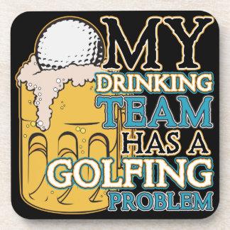 Golf Drinking Team Coaster