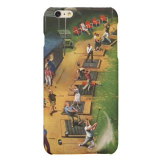 Golf Driving Range by John Falter iPhone 6 Plus Case