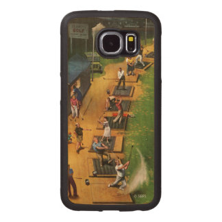 Golf Driving Range by John Falter iPhone 6 Plus Case