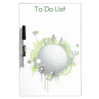 Golf Dry Erase Board