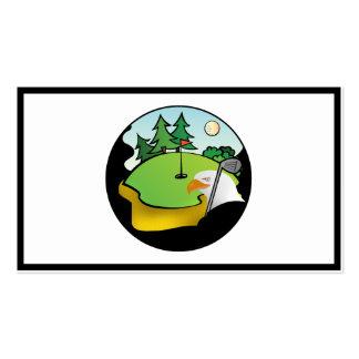 Golf Eagle Business Card Templates