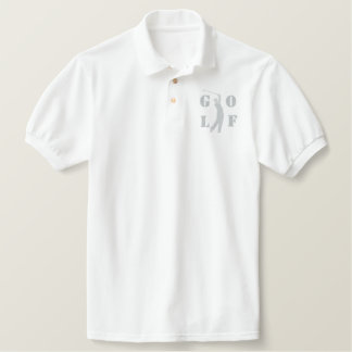 Golf Embroidered Polo Shirt