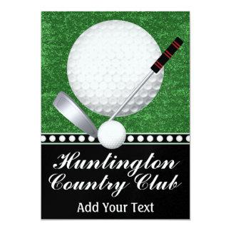"Golf Event - SRF 5"" X 7"" Invitation Card"