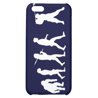 Golf Evolution golfers golfing club house gift iPhone 5C Cover