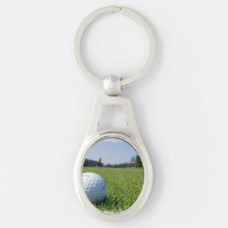 Golf Fairway Key Ring