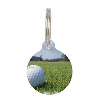 Golf Fairway Pet Name Tags