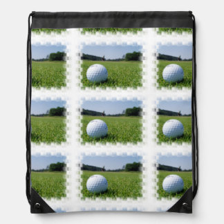 Golf Fairway Cinch Bags