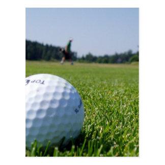 Golf Fairway Postcard