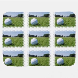 Golf Fairway Baby Blanket