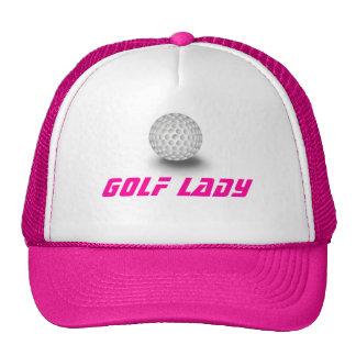 Golf fanatic trucker hats