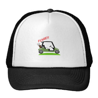 Golf Fore Cap