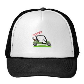Golf Fore Cap