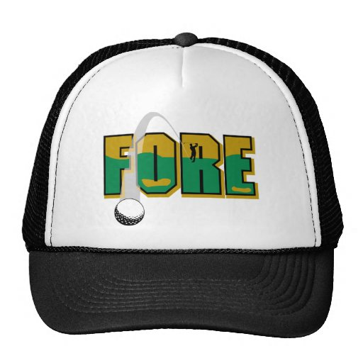 Golf Fore Hats