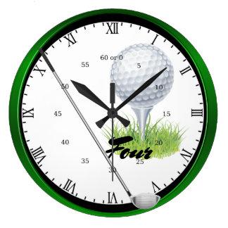 Golf Four Wallclocks