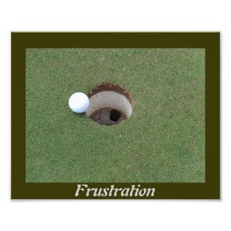 Golf frustration photo enlargement. photo