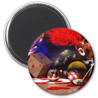 Golf Galaxy 6 Cm Round Magnet