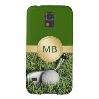 Golf Galaxy S5 Monogram Cases