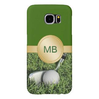 Golf Galaxy S6 Monogram Cases Samsung Galaxy S6 Cases