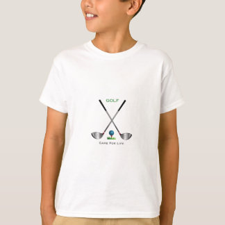 GOLF - Game for Life Golf Clubs Golf Ball T-Shirt