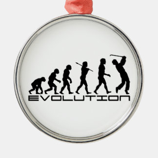 Golf Golfer Golfing Sport Evolution Art Christmas Ornament
