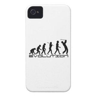 Golf Golfer Golfing Sport Evolution Art iPhone 4 Case-Mate Case