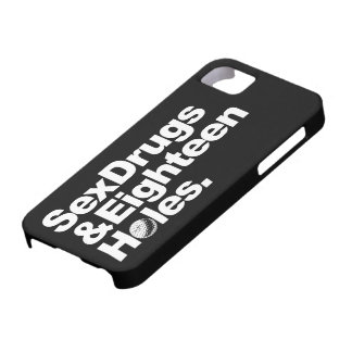 Golf Golfing Funny Gift For Golfers iPhone 5 Covers
