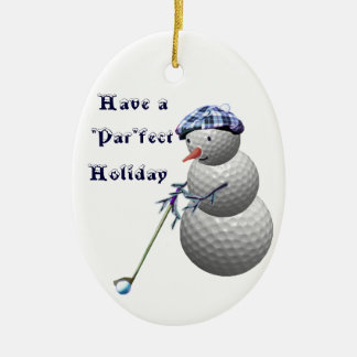 Golf Golfing Golfers Christmas Gifts Ornament
