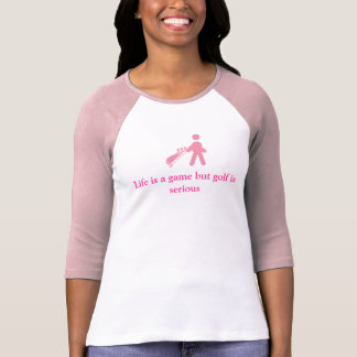 Golf golfing Ladies tee shirt